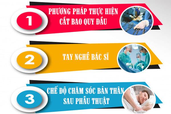 địa chỉ cắt bao quy đầu ở Đồng Nai