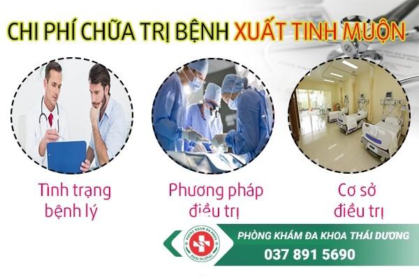 chi phí chữa trị bệnh xuất tinh muộn ở Biên Hòa 1