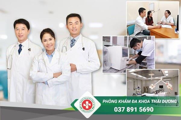 Điều trị bệnh rò hậu môn hiệu quả, an toàn tại Phòng khám Thái Dương