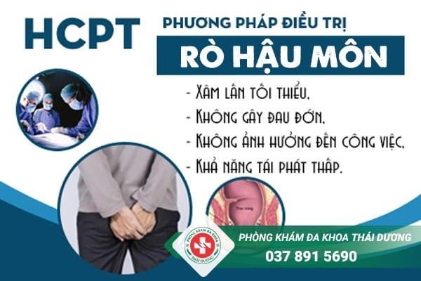Điều trị rò hậu môn an toàn, dứt điểm bằng phương pháp HCPT