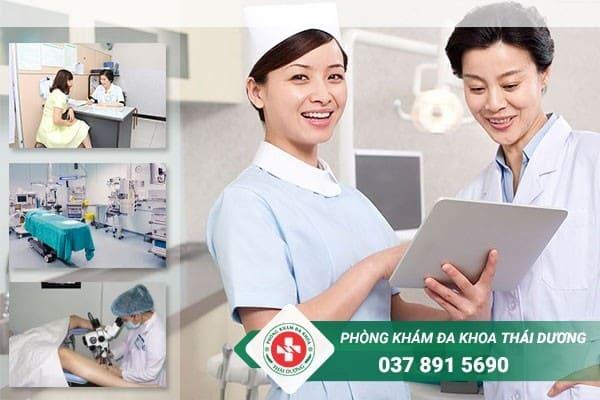 Khám chữa bệnh lậu hiệu quả tại Phòng khám đa khoa Thái Dương