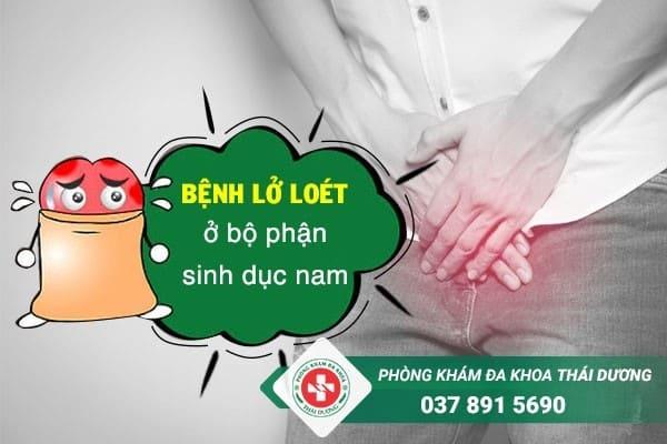 Bệnh lở loét ở bộ phận sinh dục nam