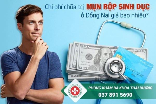 Chi phí chữa trị bệnh mụn rộp sinh dục ở Đồng Nai giá bao nhiêu