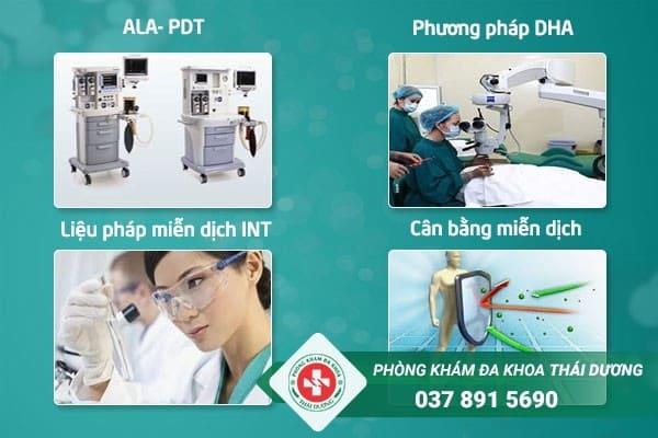 Những phương pháp điều trị bệnh xã hội tiên tiến tại phòng khám Thái Dương