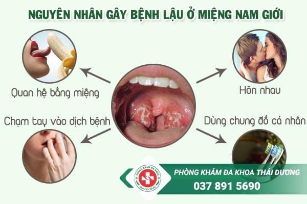Nguyên nhân gây bệnh lậu ở miệng nam giới