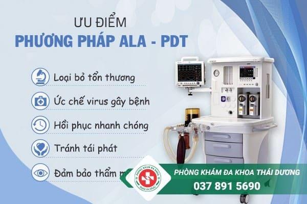 Điều trị sùi mào gà hiệu quả, tránh tái phát bằng phương pháp ALA - PDT