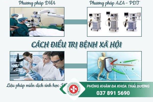 Phòng khám Thái Dương áp dụng nhiều phương pháp điều trị bệnh xã hội hiện đại