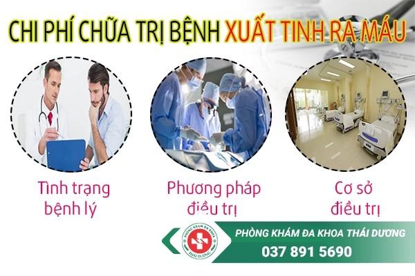 chi phí chữa xuất tinh ra máu ở Biên Hòa 2