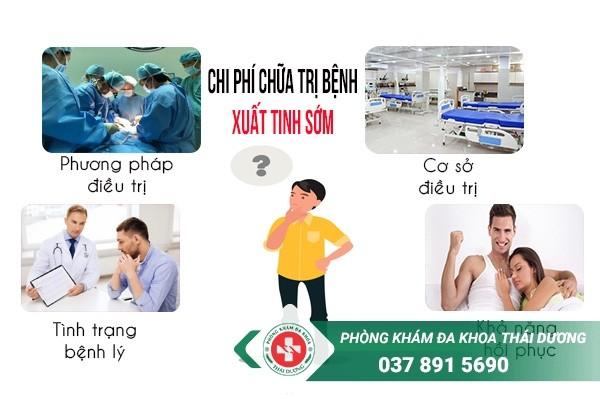 chi phí chữa trị bệnh xuất tinh sớm ở Biên Hòa 1