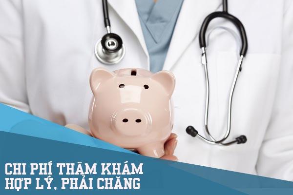 Chi phí khám chữa bệnh hợp lý, phải chăng