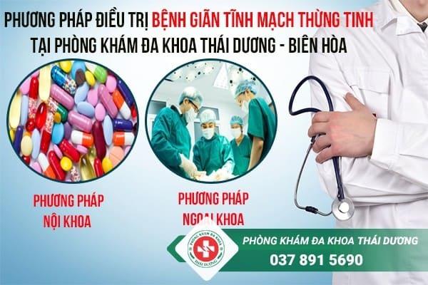 đia chỉ chữa trị bệnh giãn tĩnh mạch thừng tinh ở Biên Hòa - Đồng Nai 2