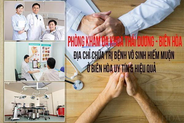 địa chỉ chữa trị bệnh vô sinh hiếm muộn ở Biên Hòa