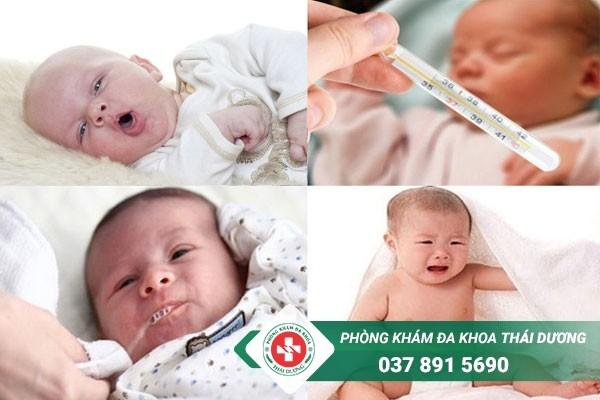 Biểu hiện của bệnh viêm phổi ở trẻ sơ sinh