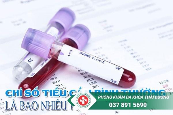 Xét nghiệm công thức máu định kỳ thường xuyên để kiểm tra chỉ số tiểu cầu bình thường