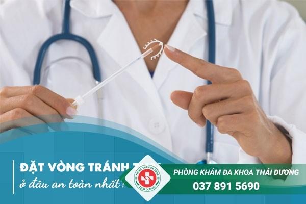 Đặt vòng tránh thai ở đâu an toàn nhất?