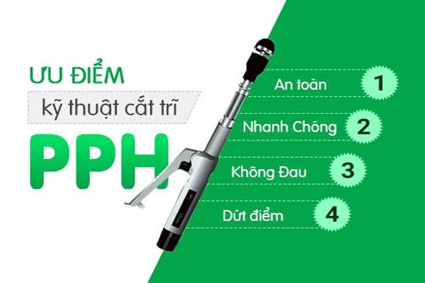 Điều trị bệnh trĩ nội hiệu quả bằng phương pháp PPH
