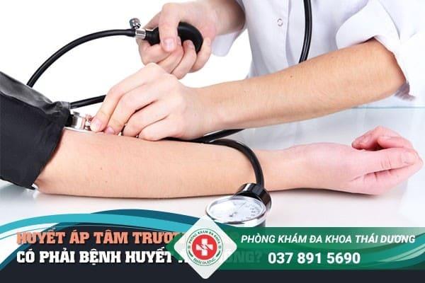 Huyết áp tâm trương thấp có phải bệnh huyết áp không?