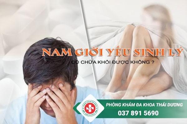Điều trị yếu sinh lý hiệu quả tại Phòng khám đa khoa Thái Dương