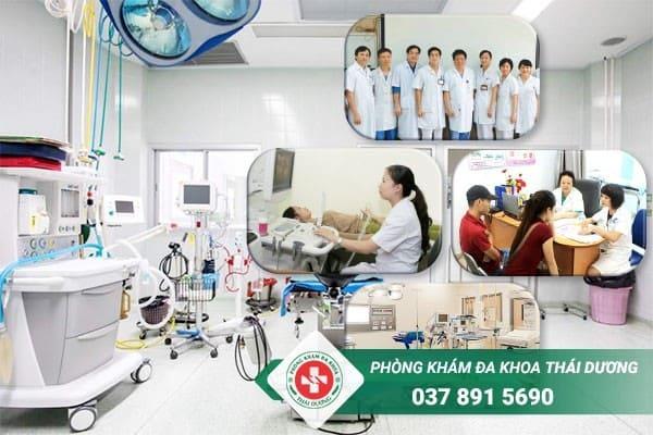 Những lợi ích khi điều trị tại Phòng khám Thái Dương Biên Hòa