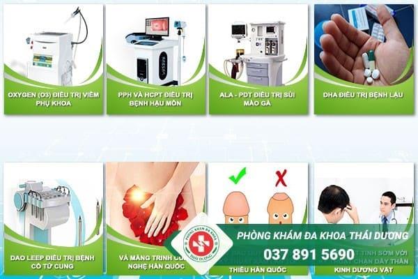 Đa khoa Thái Dương Biên Hòa áp dụng nhiều phương pháp điều trị hiện đại