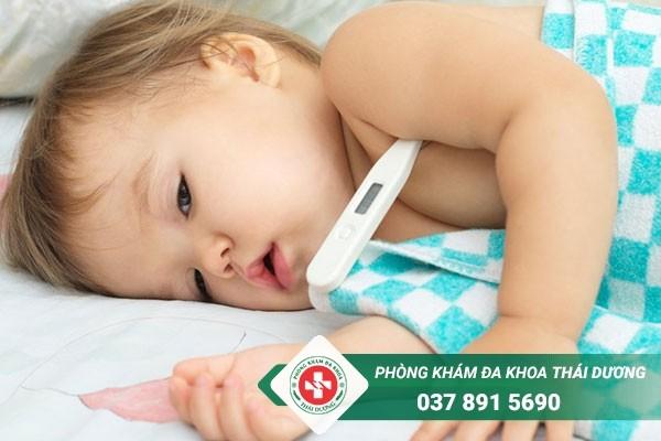 Sốt virus ở trẻ em kéo dài bao lâu thì khỏi
