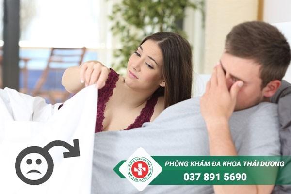 Liệt dương gây ảnh hưởng đến tâm lý, đời sống tình dục và khả năng có con của nam giới