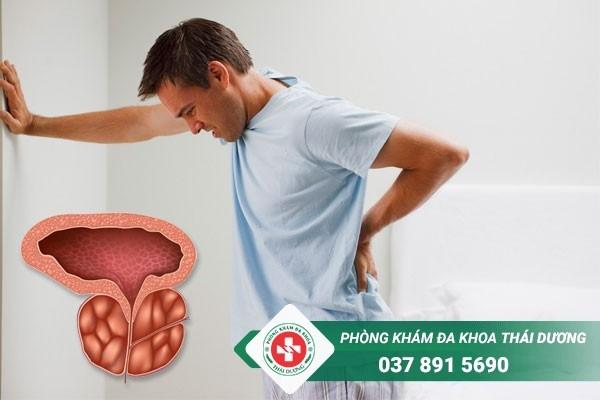 Phì đại tuyến tiền liệt gây ra nhiều ảnh hưởng đến sinh hoạt, sức khỏe của nam giới