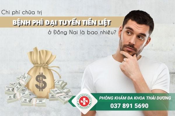 Chi phí chữa trị bệnh phì đại tuyến tiền liệt ở Đồng Nai