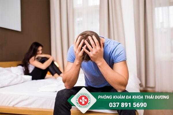 Rối loạn cương dương gây ra nhiều tác hại cho nam giới nếu không sớm điều trị