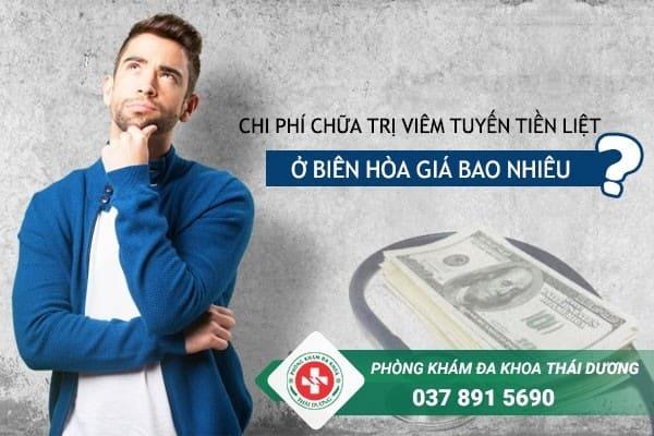 Chi phí chữa trị bệnh viêm tuyến tiền liệt ở Biên Hòa giá bao nhiêu