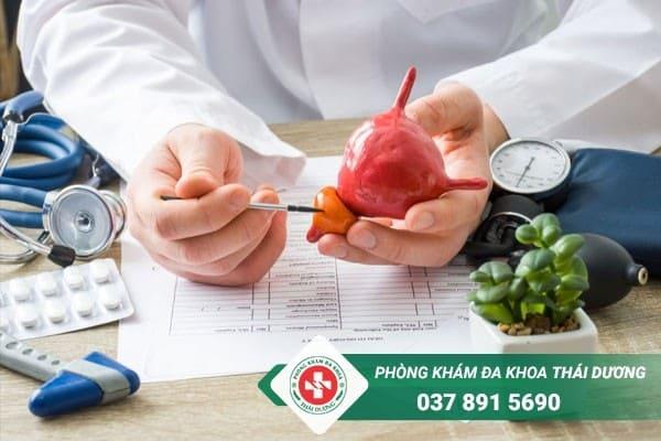 Viêm tuyến tiền liệt là bệnh nam khoa thường gặp ở nam giới