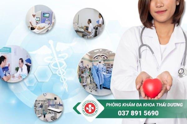 Phòng khám Thái Dương - Địa chỉ chữa trị bệnh viêm bàng quang ở Đồng Nai uy tín