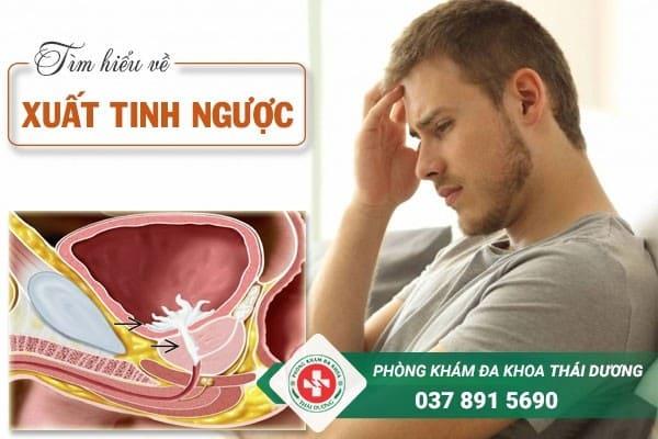 Xuất tinh ngược là một trong những nguyên nhân gây vô sinh ở nam giới