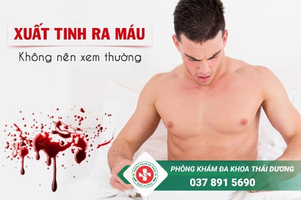 Xuất tinh ra máu là dấu hiệu cảnh báo nhiều bệnh lý nguy hiểm ở nam giới