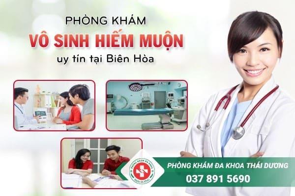 Phòng khám vô sinh hiếm muộn uy tín tại Biên Hòa