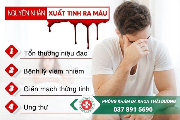 Nguyên nhân tại sao bị xuất tinh ra máu ở nam giới