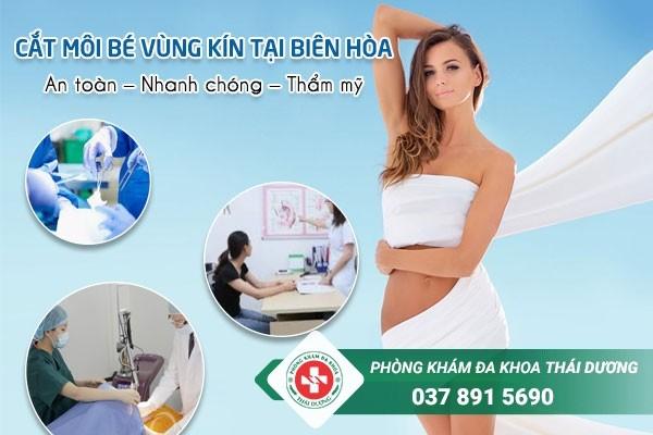 Phẫu thuật cắt môi bé vùng kín tại Biên Hòa