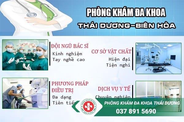 Đa khoa Thái Dương - Địa chỉ chữa trị bệnh polyp cổ tử cung ở Biên Hòa uy tín