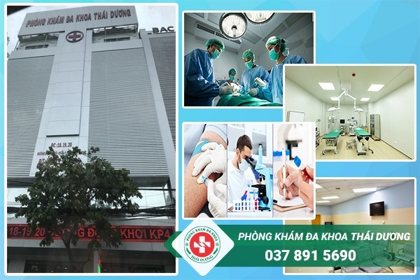 Phòng khám Thái Dương - Địa chỉ thu nhỏ âm đạo ở Biên Hòa an toàn
