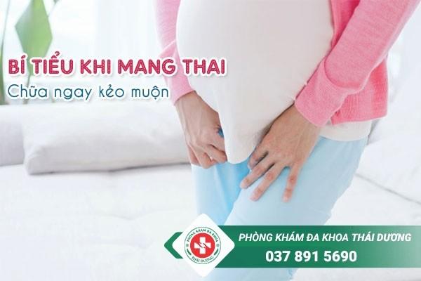Bí tiểu khi mang thai chữa ngay kẻo muộn