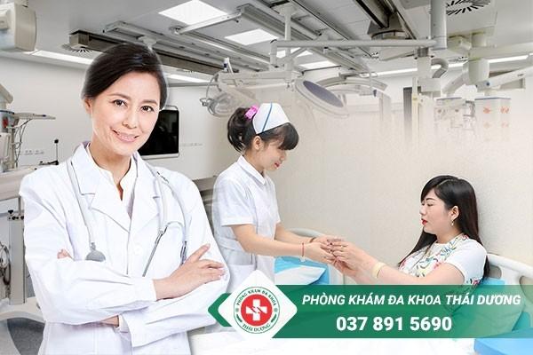 Chữa nang naboth tử cung hiệu quả, tiết kiệm chi phí tại Phòng khám Thái Dương