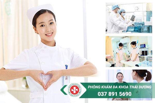 Phòng khám Thái Dương là địa chỉ chữa viêm đường tiết niệu có chi phí hợp lý tại Đồng Nai