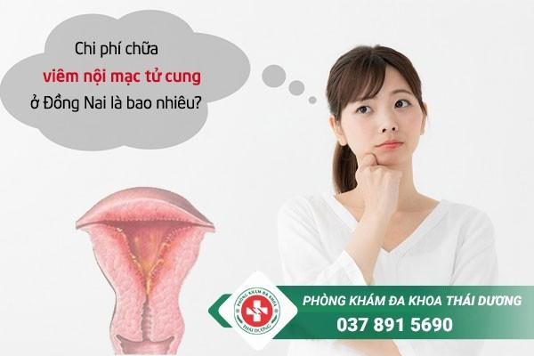 Chi phí chữa trị bệnh viêm nội mạc tử cung ở Đồng Nai