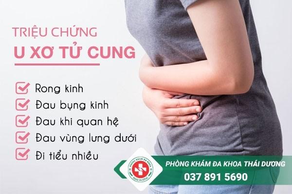 U xơ tử cung có triệu chứng gì