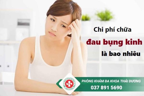 Chi phí chữa trị bệnh đau bụng kinh ở Biên Hòa là bao nhiêu tiền?