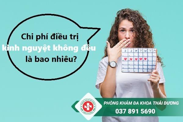Chi phí chữa trị bệnh kinh nguyệt không đều ở Biên Hòa