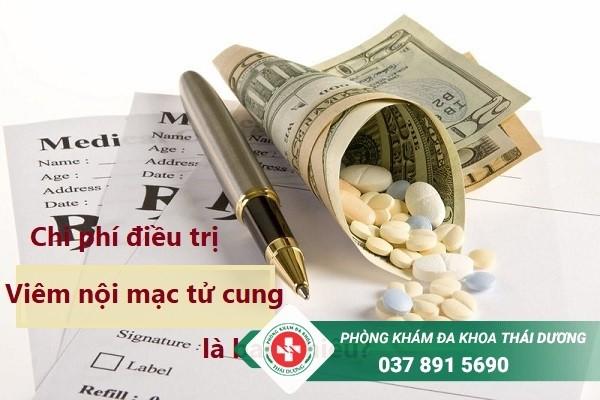 Chi phí chữa trị bệnh viêm nội mạc tử cung ở Biên Hòa là bao nhiêu?