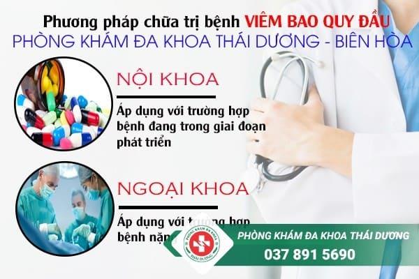 địa chỉ chữa trị bệnh viêm bao quy đầu ở Biên Hòa