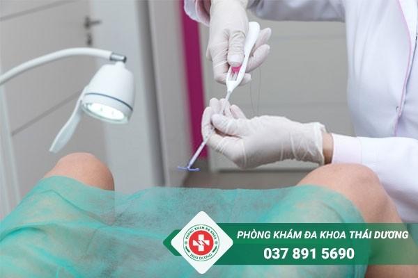 Quy trình đặt vòng tránh thai chỉ đảm bảo an toàn khi thực hiện tại địa chỉ uy tín