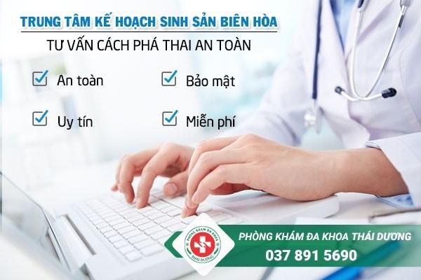 Trung tâm kế hoạch sinh sản Biên Hòa tư vấn cách phá thai an toàn